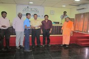 COURSE COMPLETION CERTICATES BY Mr.  SAI SATHYA KUMAR CHAIRMAN OF AIEMA Technology Centre TO THE CANDIDATES FROM SRI RAMAKRISHNA MISSION THE PRESENCE OF Mr. SHANMUGAM C.E.O AND COMMITTEE MEMBER